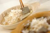 レンジ湯豆腐の作り方2