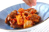 砂肝のキムチ炒めの作り方2