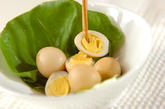 ウズラの卵のショウガ煮の作り方2
