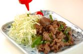 牛肉とピーマンのソース炒めの作り方3