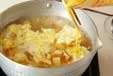 豆腐入りかきたま汁の作り方2