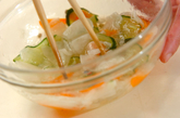 薄切り大根の甘酢漬けの作り方2