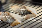 スズキのグリル塩焼きの作り方1