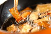すき焼き風コンニャク丼の作り方1