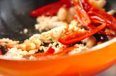 エビと春雨の炒め煮の作り方1