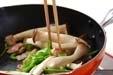 エリンギのソース炒めの作り方2