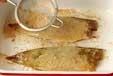 アジのカレーソテーの作り方1