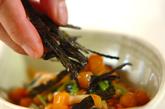 ミツバとナメコのサッパリ和えの作り方1