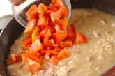 トマトの焼きリゾットの作り方4