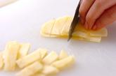 アップルパインカナッペの作り方2
