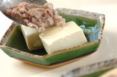 豆腐の豚肉あんかけの作り方4