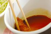揚げないソースカツ丼の作り方3