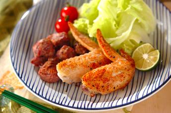 鶏肉の七味焼き