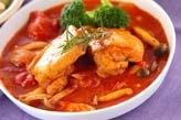鶏肉の香草トマト煮