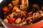炒り鶏の作り方2