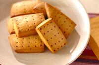 メープル風味のサブレ