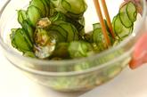 寄せ豆腐のオクラ酢のせの作り方1