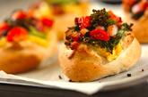 菜の花香る春色パンの作り方8