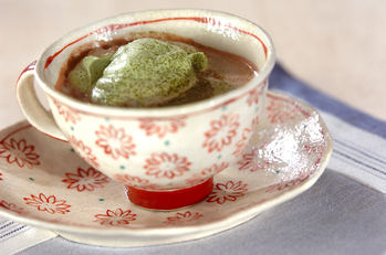 抹茶ココアホットティー