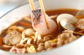 海鮮鍋~トムヤム風鍋~卵春雨の作り方3