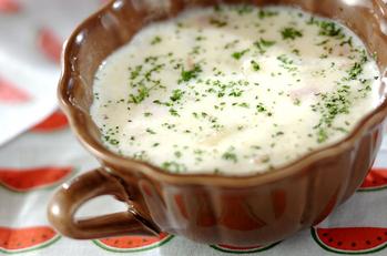ジャガイモ団子のスープ