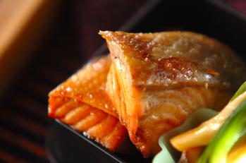 鮭の煮付け