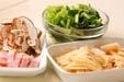 タケノコのスープの下準備1