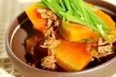 カボチャのレンジツナ煮
