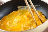和風卵とじサンドイッチの作り方3