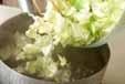 キャベツのゴママヨ和えの作り方1