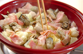 カキとキャベツの酒蒸しの作り方2