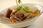 豆腐と根菜の煮物の作り方3