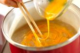 レンコンとショウガの卵汁の作り方2