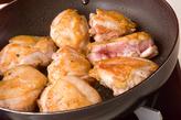 鶏肉のレモン煮の作り方1