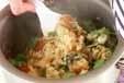 カキご飯の作り方3