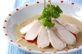 ゆで鶏カレーココナッツの作り方5