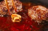 ケチャップハンバーグの作り方3