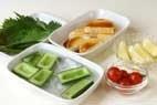 鶏と野菜の揚げ盛りの作り方1