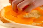 桃のデコレーションケーキの作り方4
