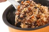 芽ヒジキの炊き込みご飯の作り方2