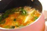 焼き鳥缶の卵とじ丼の作り方3