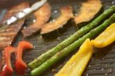 グリル野菜とオープンサンドの作り方2