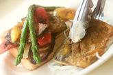 グリル野菜とオープンサンドの作り方5