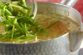 たっぷり野菜の冷麺の作り方2