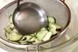 ナスとインゲンゴマ和えの作り方2