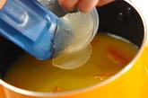 ヨーグルトのせオレンジゼリーの作り方1
