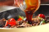 牛肉とキュウリの炒め物の作り方3