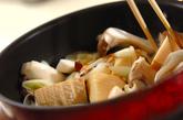 鶏手羽先とキノコのコラーゲン煮の作り方1