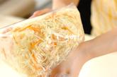 せん切りキャベツの和え物の作り方1