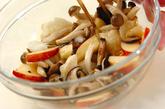 キノコの長芋和えの作り方2